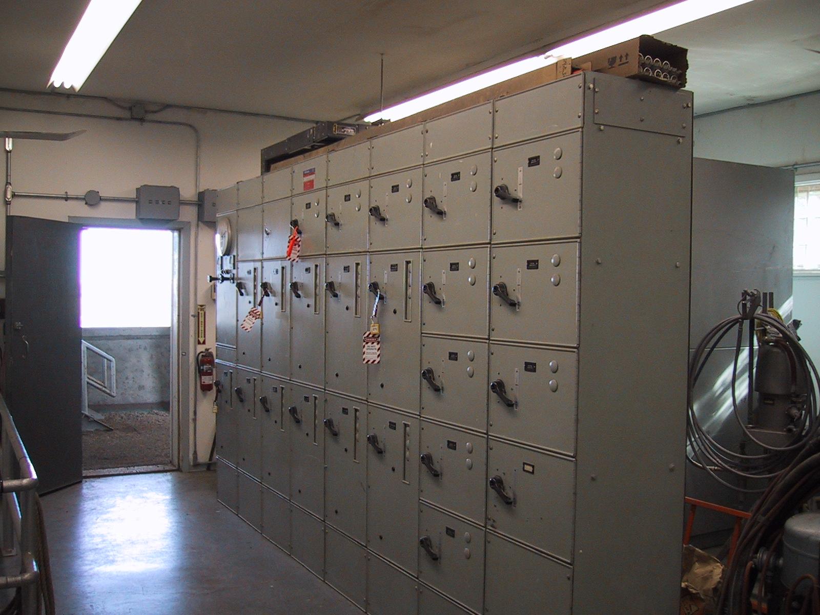 MCC Building (Motor Control Centres)